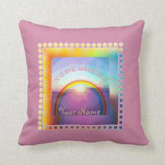 """""""Somewhere Over the Rainbow"""" Pillow"""