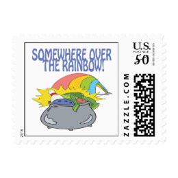 Somewhere Over The Rainbow Postage