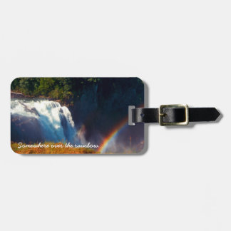 Somewhere Over the Rainbow Travel Tag