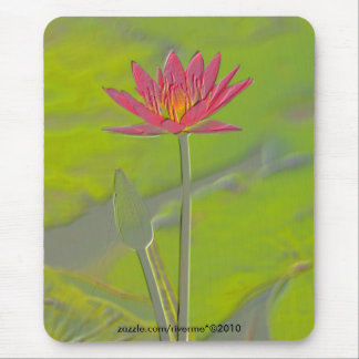 Somewhere Pristine in my Heart/Lotus Mouse Pad