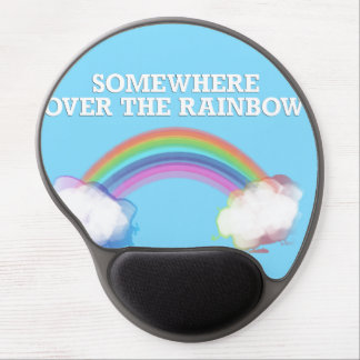 Somewhere to over the Rainbow Gel Mousepad