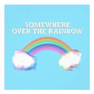 Somewhere to over the Rainbow Photo Print
