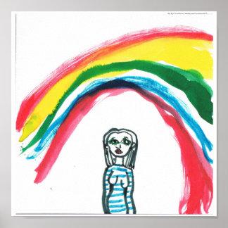Somewhere Under A Rainbow Print