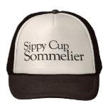 Sommelier de la taza de Sippy Gorras De Camionero
