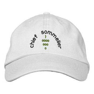SOMMELIER HAT EMBROIDERED HATS