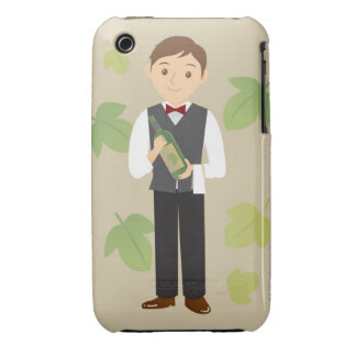 Sommelier iPhone 3 Case-Mate Case