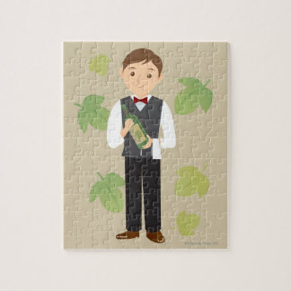 Sommelier Jigsaw Puzzle