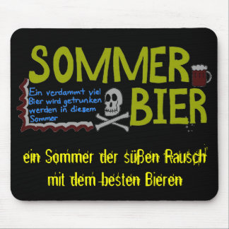 Sommer Bier Mouse Pad