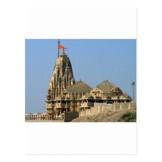 SOMNATH TEMPLE  GUJARAT INDIA POSTCARD
