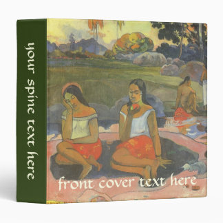 """Somnolencia deliciosa de Paul Gauguin, arte del Carpeta 1 1/2"""""""
