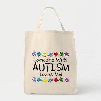 Somone con autismo me ama (los PP) Bolsas