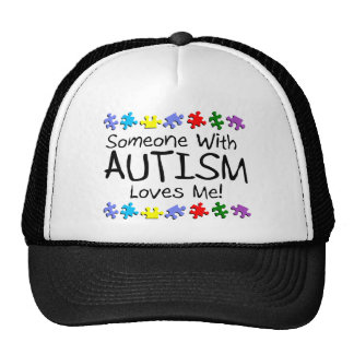 Somone With Autism Loves Me (PP) Trucker Hat