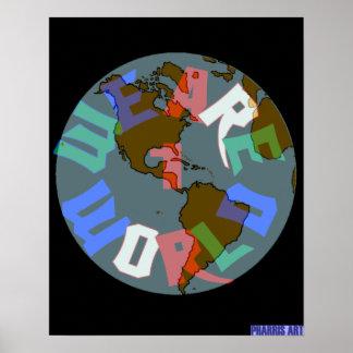 Somos 1 poster del mundo