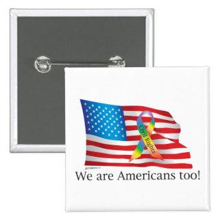 ¡Somos Amercians también! Botón