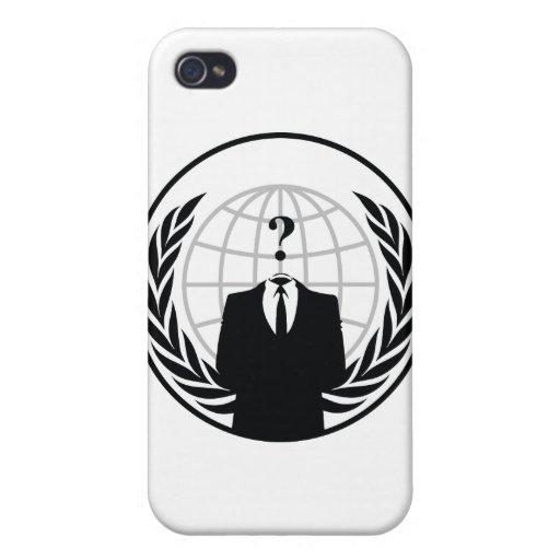 Somos anónimos iPhone 4 fundas
