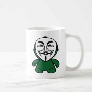 Somos anónimos taza