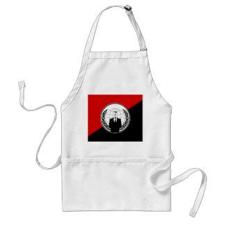 Somos bandera anónima del anarquista delantal