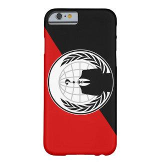 Somos bandera anónima del anarquista funda para iPhone 6 barely there