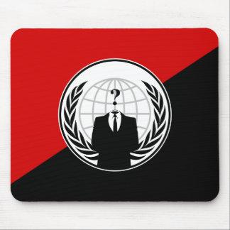 Somos bandera anónima del anarquista alfombrilla de ratones