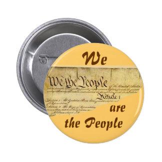 Somos botón del thePeople Pin Redondo De 2 Pulgadas