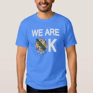 """""""Somos"""" camiseta ACEPTABLE del alivio del tornado Playeras"""