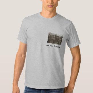 somos camiseta de la familia remeras
