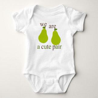 Somos camisetas lindas de un par playera