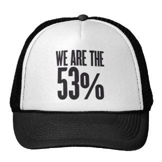 Somos el 53 por ciento gorra