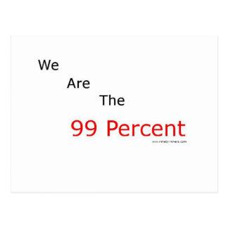 ¡Somos el 99 por ciento.! Tarjetas Postales