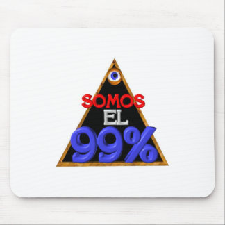 Somos el 99% Spanish We are 99 percent Mouse Pad