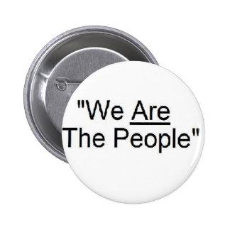 Somos el botón de la gente pins