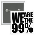 Somos el botón del 99% pin