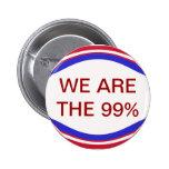 Somos el botón del 99% pins