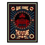 Somos el futuro tarjetas postales