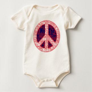 Somos el signo de la paz del 99%, azul blanco rojo mamelucos