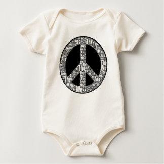 Somos el signo de la paz, el negro y el blanco del mameluco
