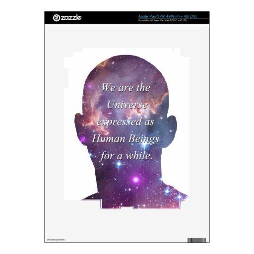 Somos el universo iPad 3 skins