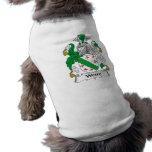 Somos escudo de la familia camisetas de perrito
