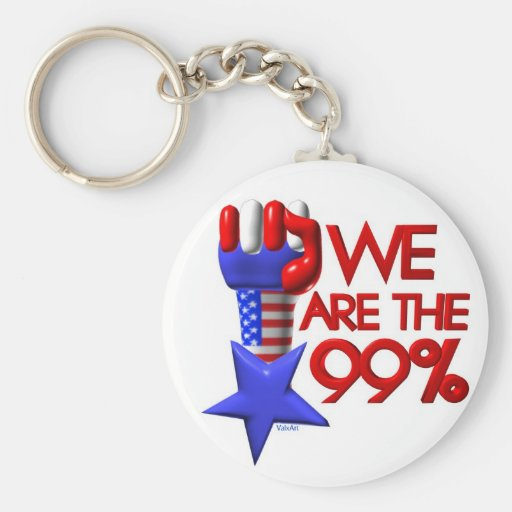 Somos estrella de levantamiento del 99% llaveros personalizados