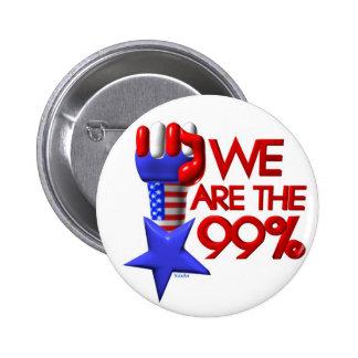 Somos estrella de levantamiento del 99% pin redondo de 2 pulgadas