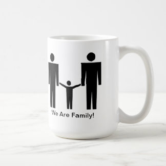 "¡""Somos familia! "" Taza"