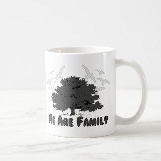 Somos familia taza de café