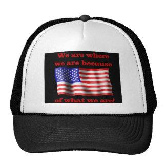 Somos gorra de América
