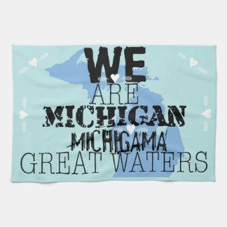 Somos grandes aguas de Michigan Michigama Toalla
