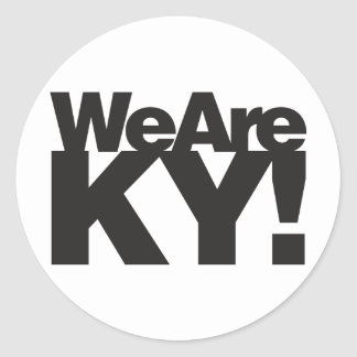 Somos Kentucky Pegatina Redonda
