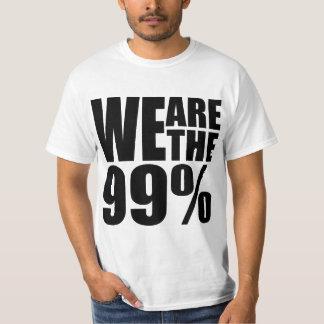 Somos la camiseta del valor del 99% playeras