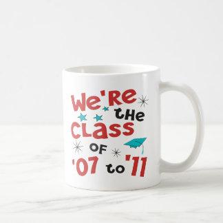 Somos la clase de 07 a 11 taza