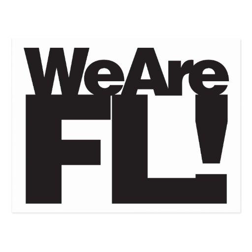 Somos la Florida Postales