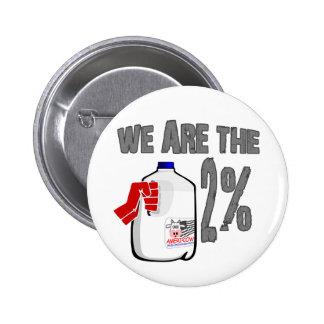¡Somos la leche del 2%! Divertido ocupe la parodia Pin