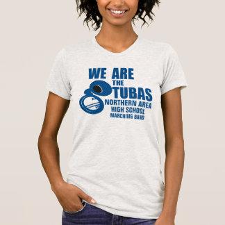 Somos las tubas azules camiseta